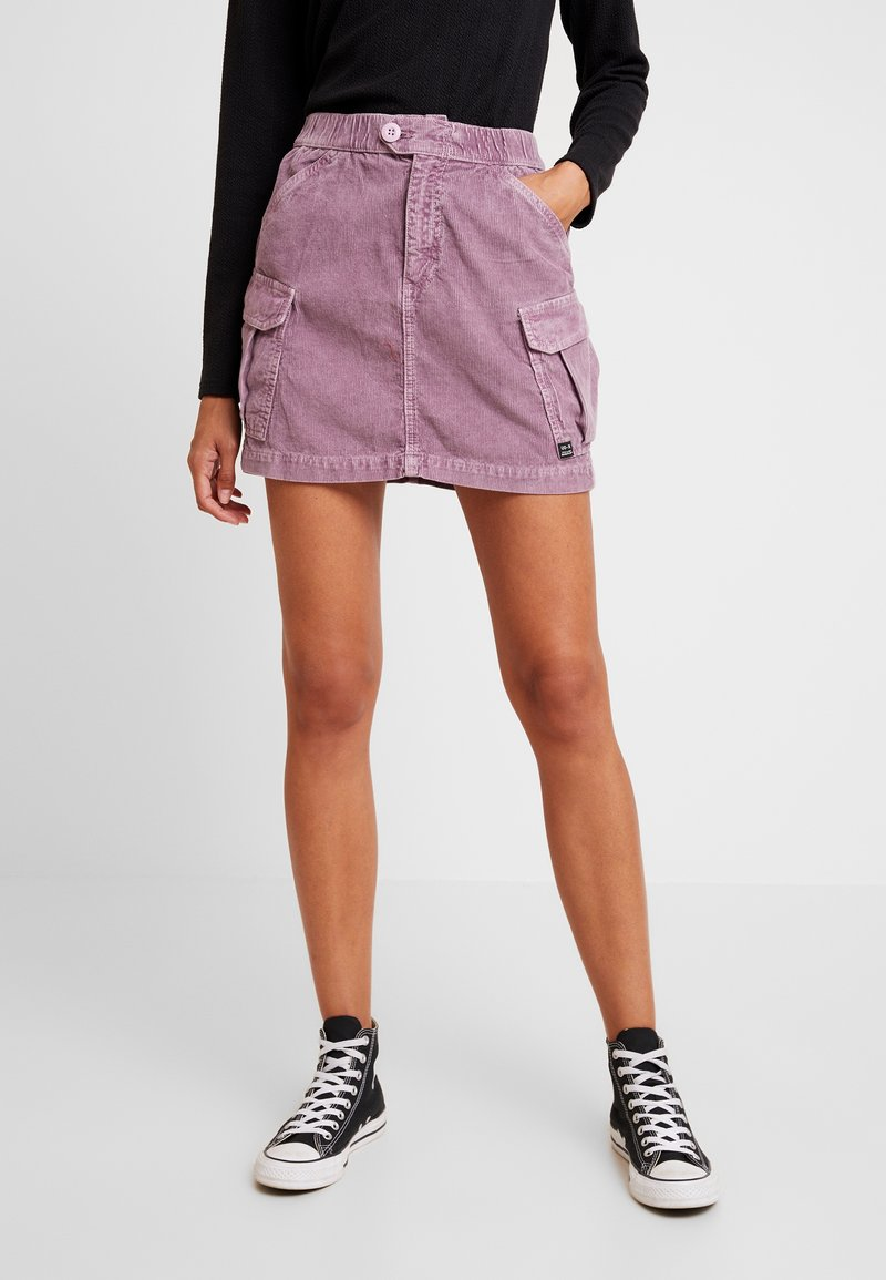 BDG Urban Outfitters - UTLITY SKIRT - Minirock - lilac