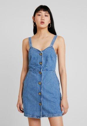 BELLA DRESS - Denimové šaty - denim