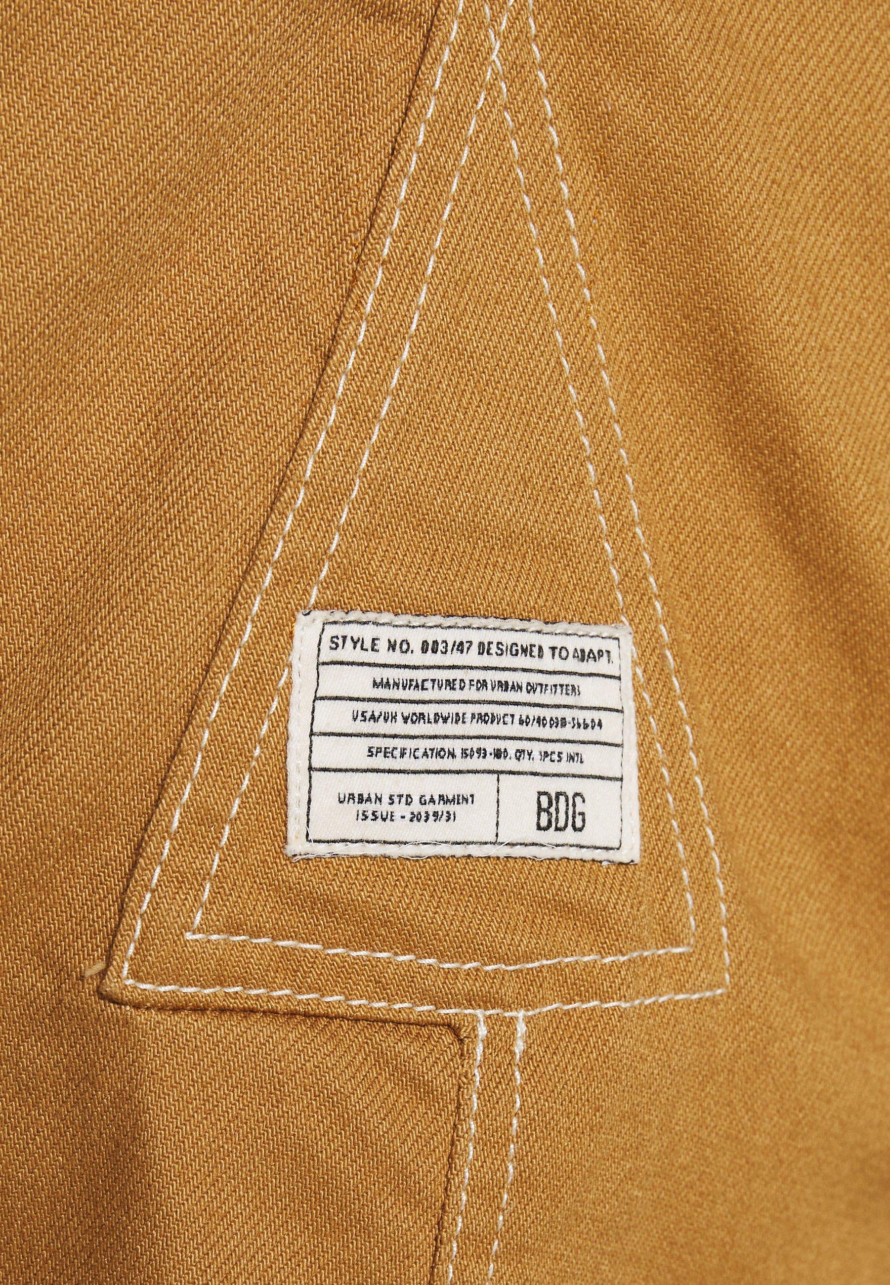 BDG Urban Outfitters CARPENTER DRESS - Jeanskjole / cowboykjoler - sand
