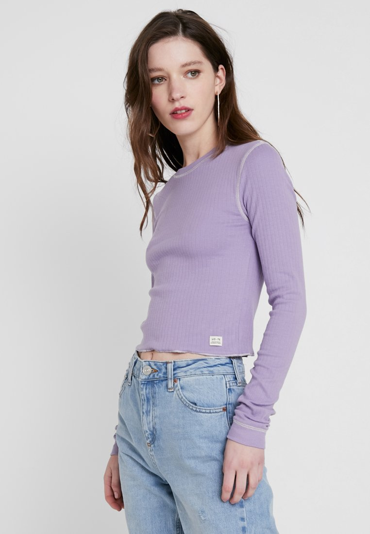 BDG Urban Outfitters - CONTRAST STITCH  - Langarmshirt - lilac
