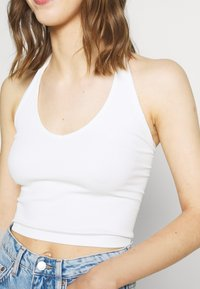 BDG Urban Outfitters - JACKIE HALTER - Top - white - 5