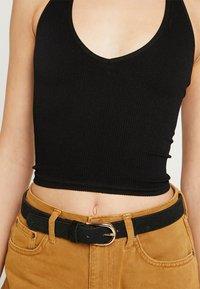 BDG Urban Outfitters - JACKIE SEAMLESS HALTER - Top - black - 4