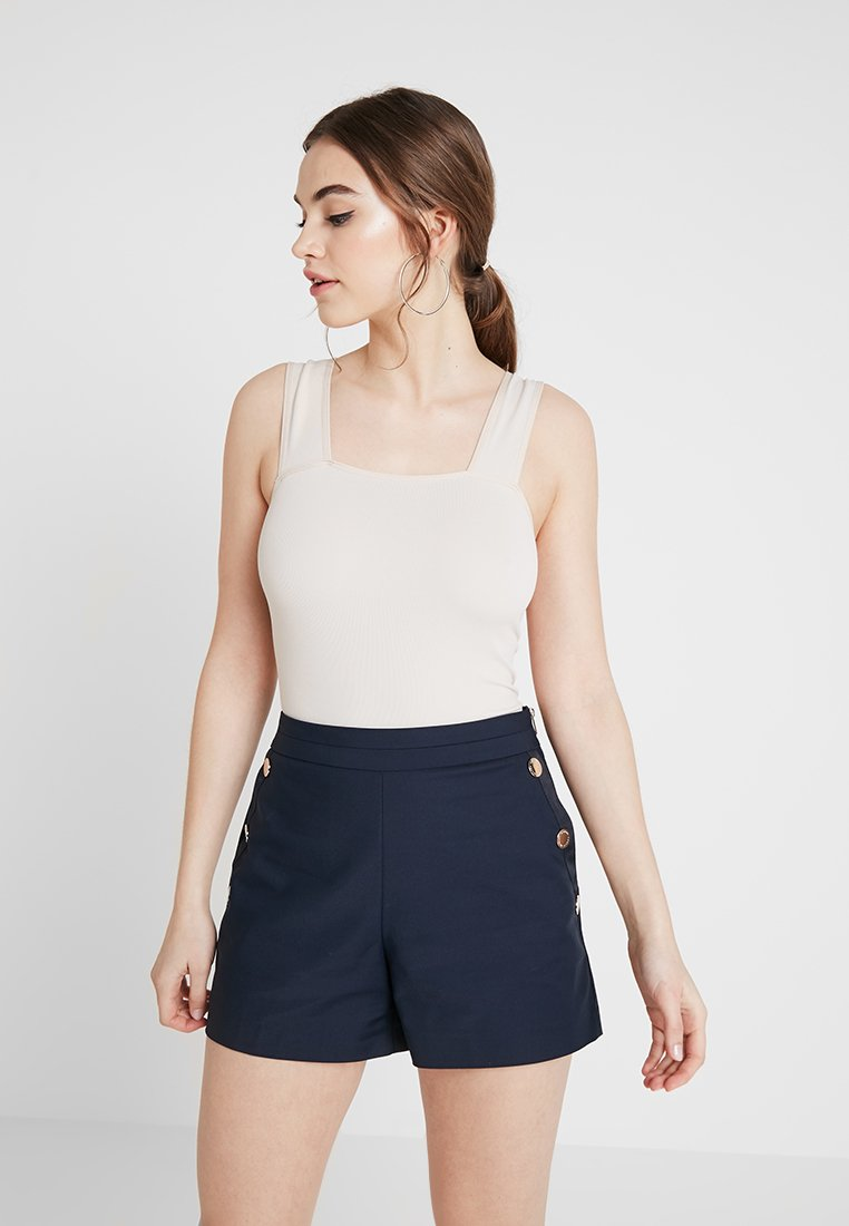 BDG Urban Outfitters - MARKIE NECK BODY - Top - cream