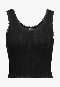 BDG Urban Outfitters - POINTELLE TANK - Top - black - 3