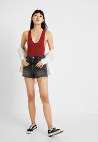 BDG Urban Outfitters - MARKIE BODYSUIT - Top - brick - 1