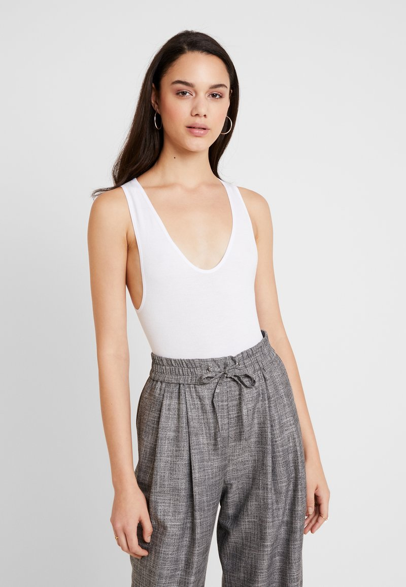 BDG Urban Outfitters - MARKIE BODYSUIT - Top - white