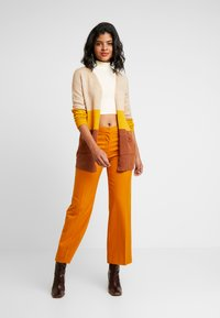 BDG Urban Outfitters - COSY FUNNEL NECK - Topper langermet - ivory - 1