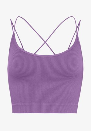 STRAPPY BACK CAMI - Topper - violet