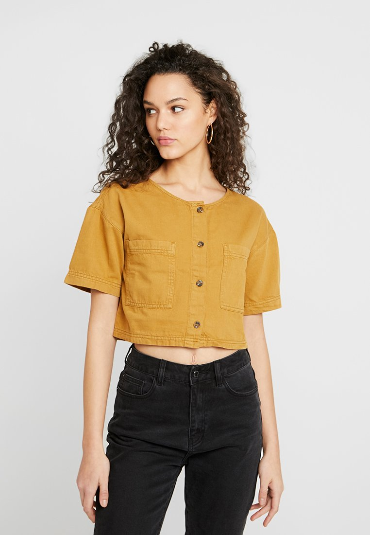 BDG Urban Outfitters - LEO CROP - Camicetta - sand