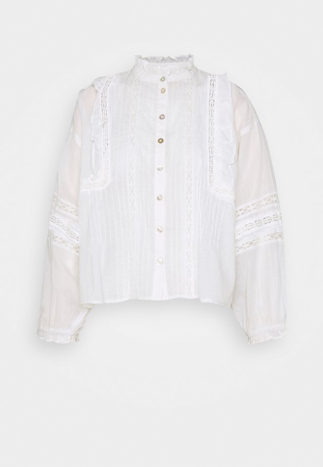 DELILAH BOHO BLOUSE - Blus - white