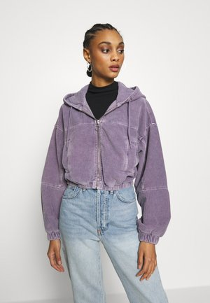 HOODED JACKET - Blouson Bomber - lilac