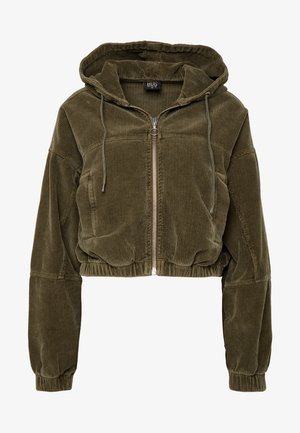 HOODED JACKET - Giubbotto Bomber - khaki