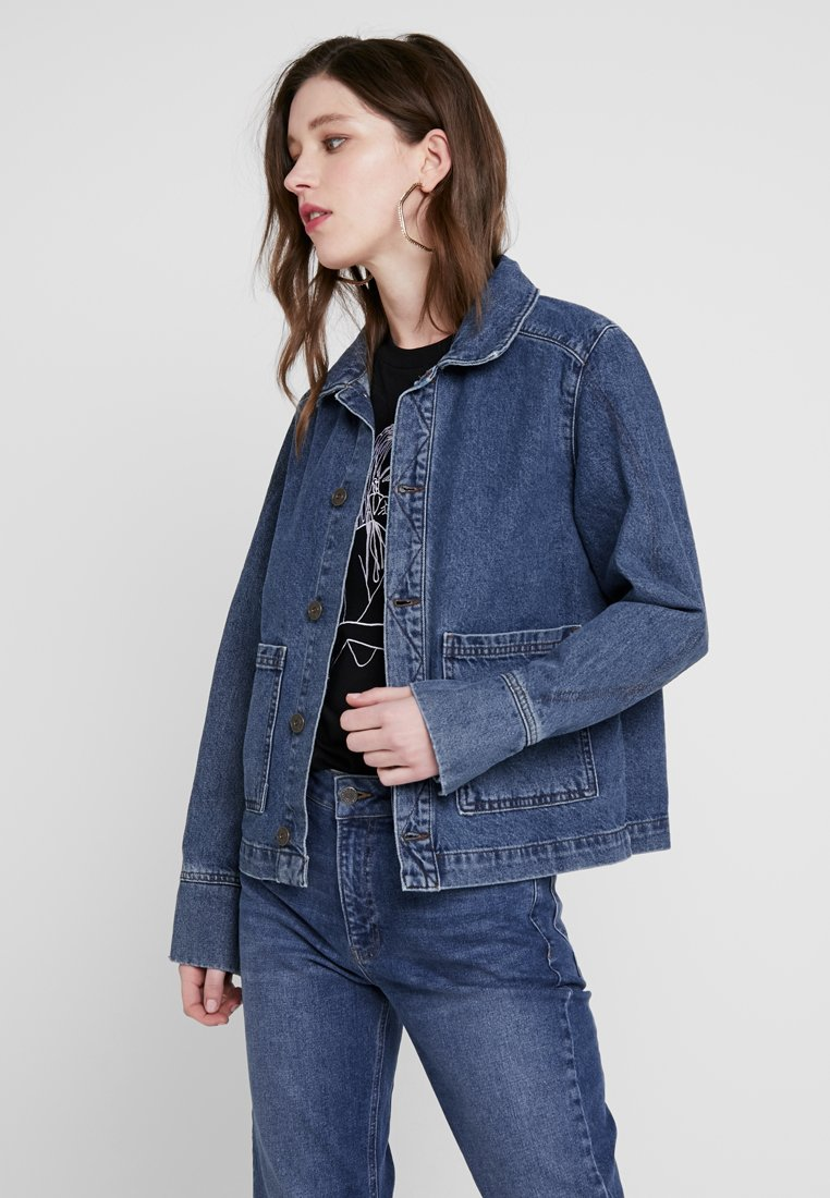 BDG Urban Outfitters - UTILITY JACKET - Jeansjacke - mid vintage