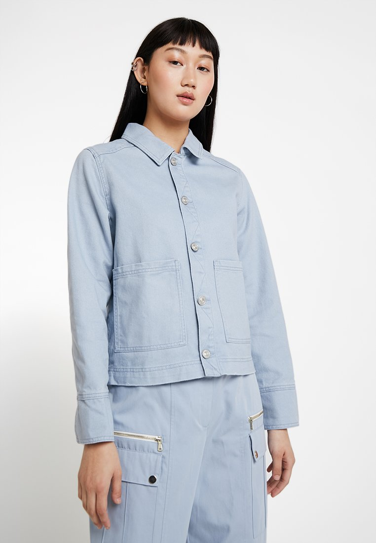 BDG Urban Outfitters - UTILITY JACKET - Denim jacket - light blue