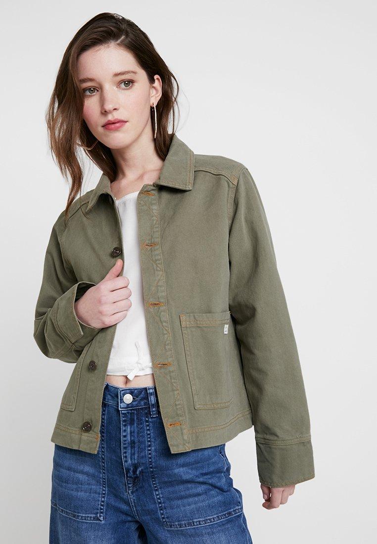 BDG Urban Outfitters - UTILITY JACKET - Jeansjacke - khaki