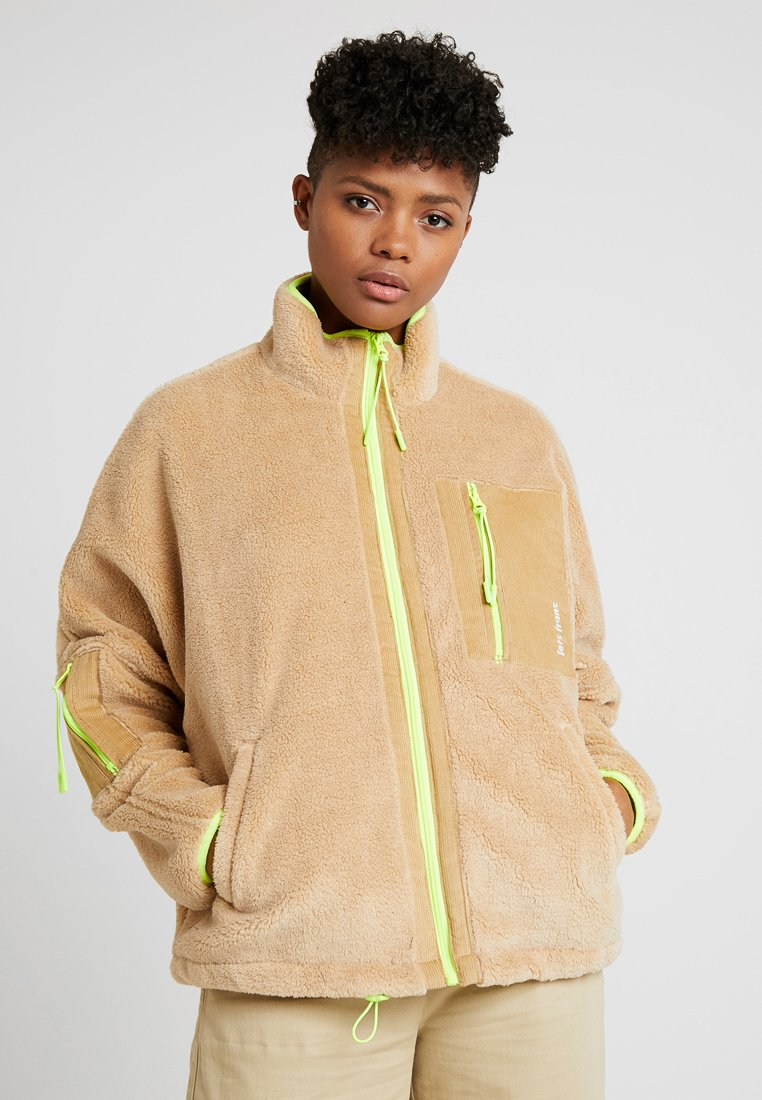 BDG Urban Outfitters - ZIP FRONT - Winterjacke - sand
