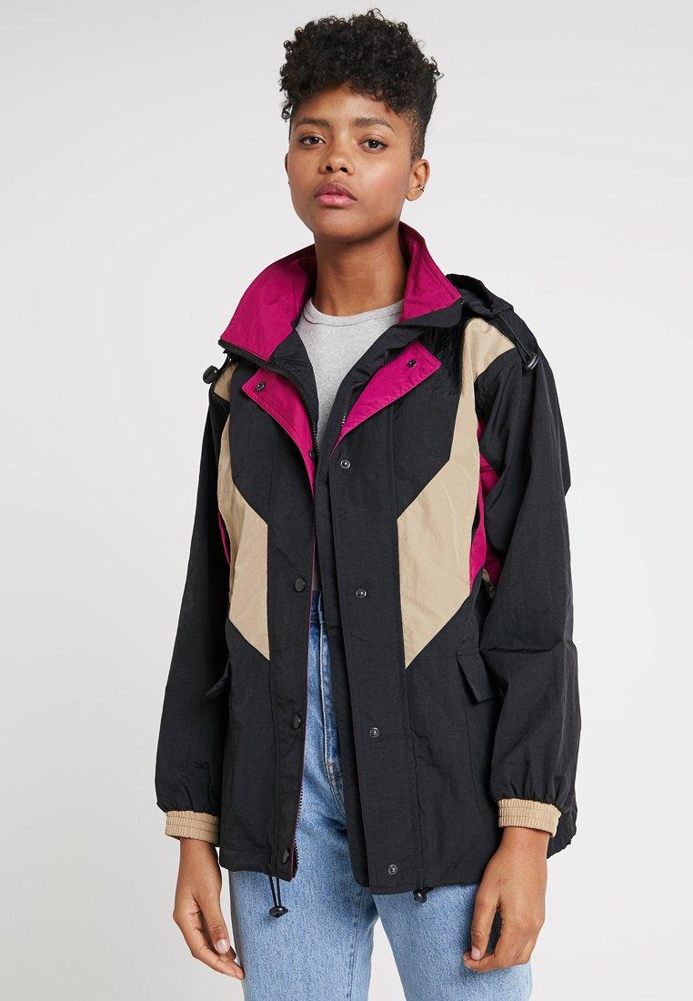 BDG Urban Outfitters - MAHONEY SKI JACKET - Windbreaker - black combo