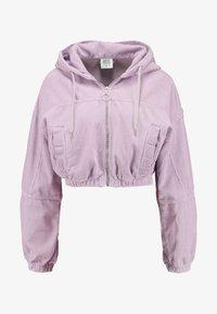 BDG Urban Outfitters - HOODED CROP - Veste légère - lilac - 3