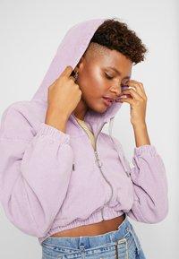 BDG Urban Outfitters - HOODED CROP - Veste légère - lilac - 4