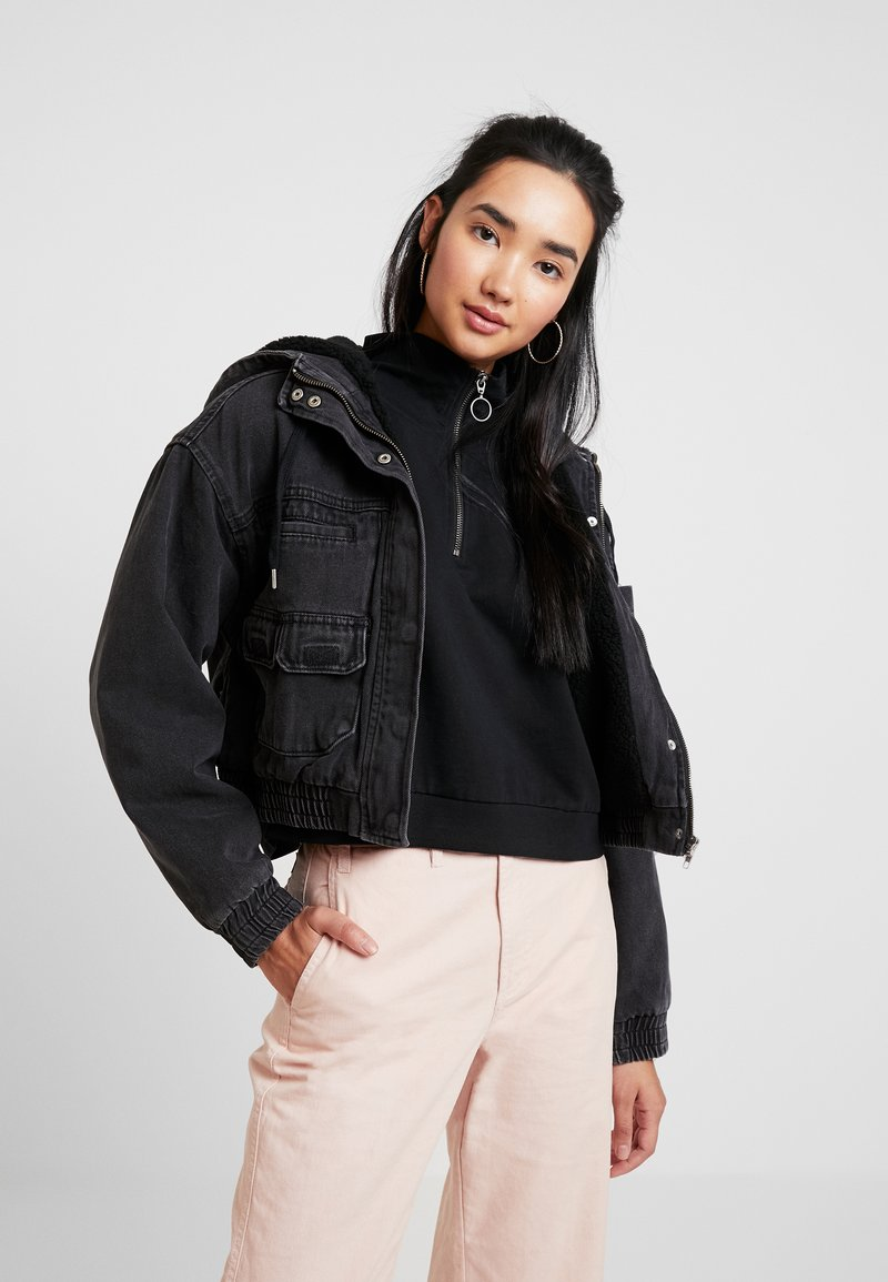 BDG Urban Outfitters - CASSIUS JARED JACKET - Jeansjacke - black