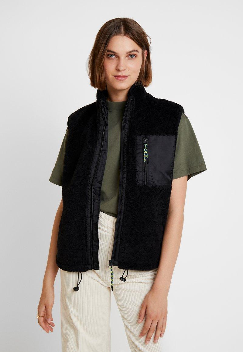 BDG Urban Outfitters - VEST - Waistcoat - black