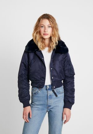 NOVA JACKET - Bomber bunda - navy