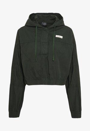SUPER CROPPED POPLIN JACKET - Summer jacket - khaki
