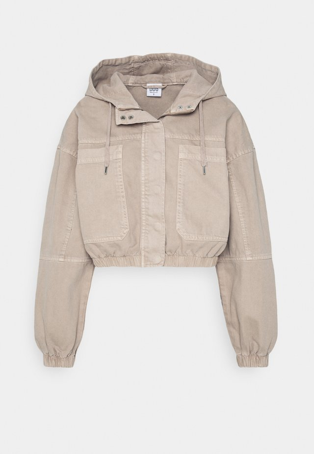 JARED UTILITY JACKET - Giacca di jeans - beige