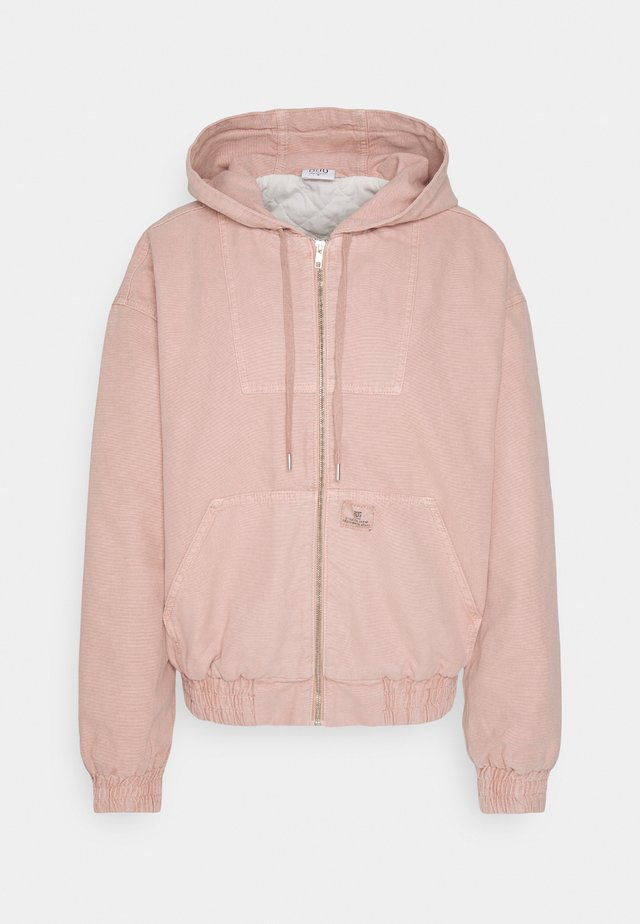 SKATE HOOD JACKET - Lehká bunda - pink