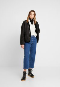 BDG Urban Outfitters - CABLE ZIP - Jumper - ecru - 1