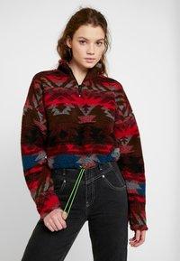 BDG Urban Outfitters - GEO PRINT - Sweatshirt - multi - 0