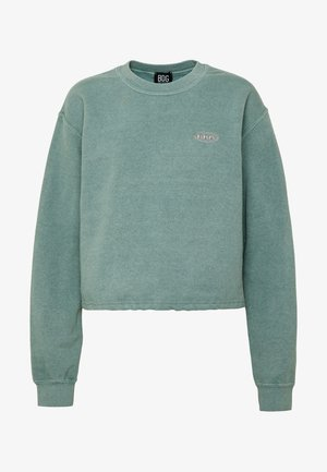BUBBLE HEM - Sweatshirt - teal