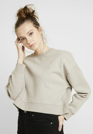 SLOUCHY - Sweatshirt - cream