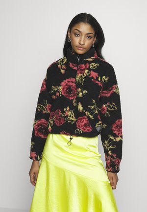 PINK ROSE  - Fleece trui - black