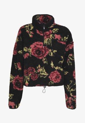 PINK ROSE  - Fleecepullover - black