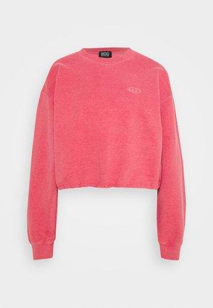 BUBBLE HEM  - Bluza - washed red