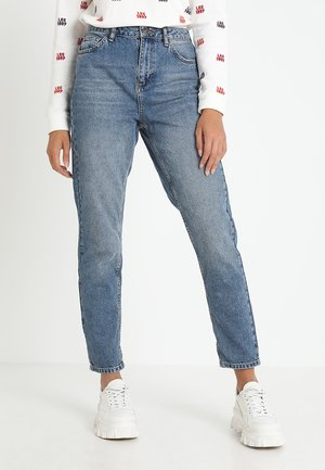 MOM - Jeansy Relaxed Fit - dark vintage