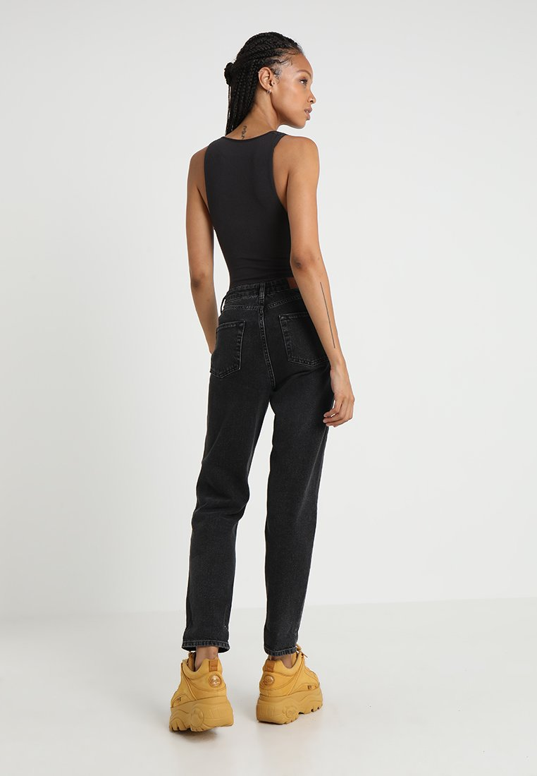 BDG Urban Outfitters MOM - Jeansy Relaxed Fit - black