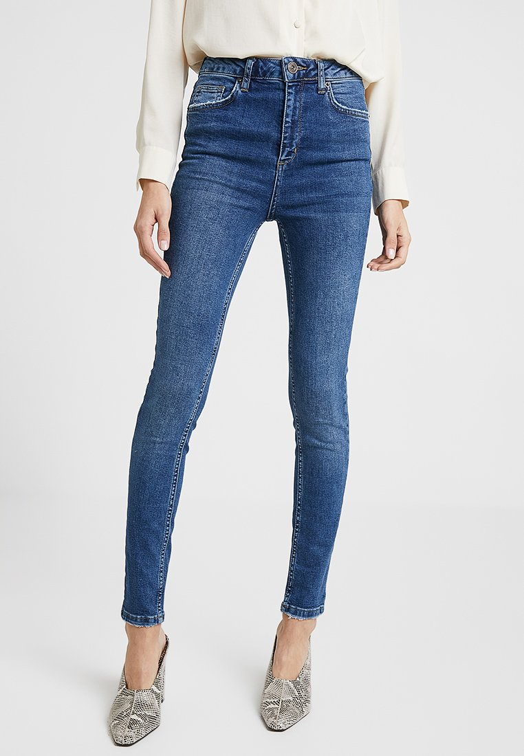 BDG Urban Outfitters - PINE TROUSERS - Jeans Skinny Fit - denim blue