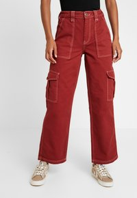 BDG Urban Outfitters - CONTRAST SKATE - Jeansy Relaxed Fit - brick - 0