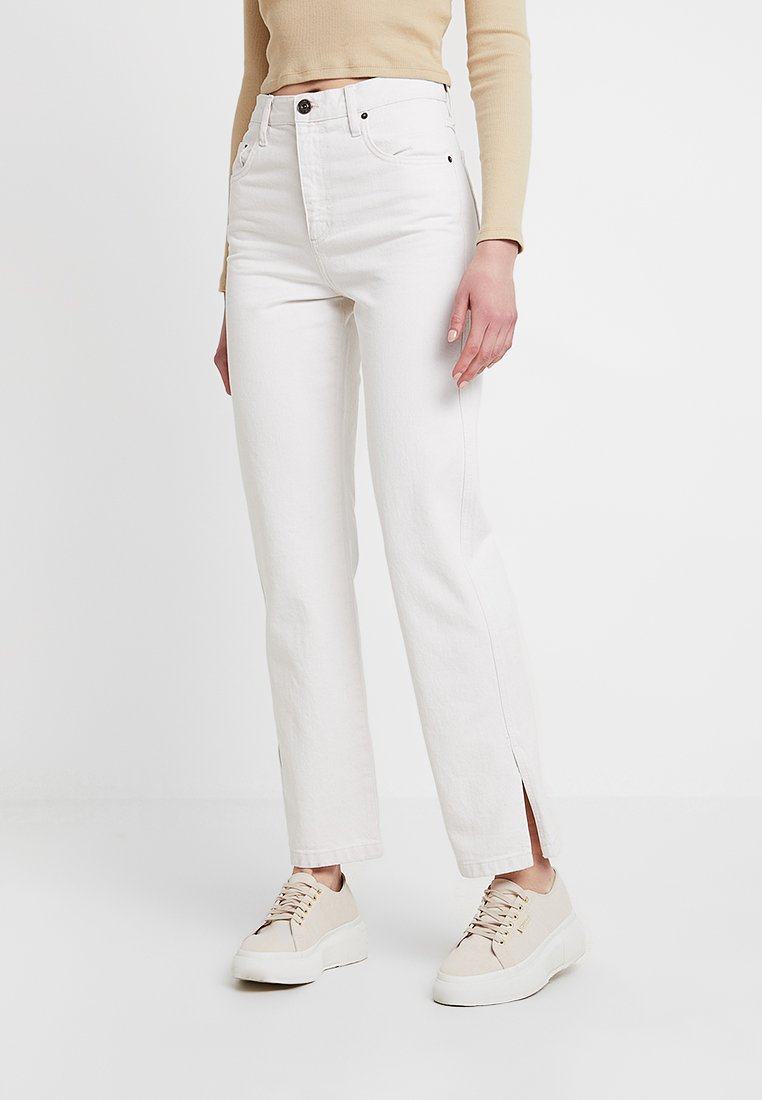 BDG Urban Outfitters - COLUMN - Straight leg -farkut - ecru