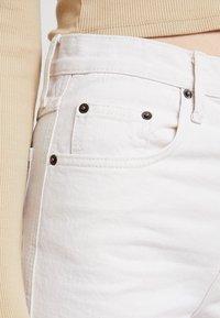 BDG Urban Outfitters - COLUMN - Straight leg -farkut - ecru - 5