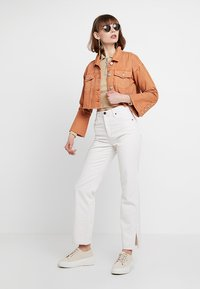 BDG Urban Outfitters - COLUMN - Straight leg -farkut - ecru - 1