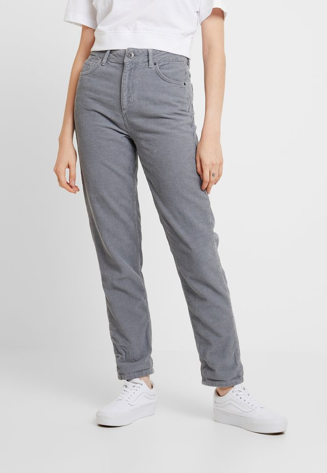 MOM - Stoffhose - cool grey