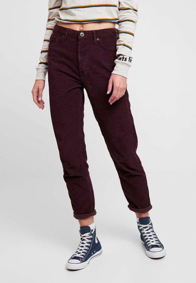 BDG Urban Outfitters - MOM - Broek - plum