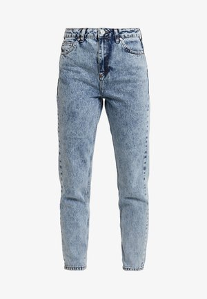 MOM - Jeans relaxed fit - acid wash blue