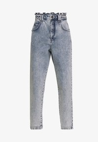 BDG Urban Outfitters - RUFFLE - Jeansy Relaxed Fit - acid blue - 3