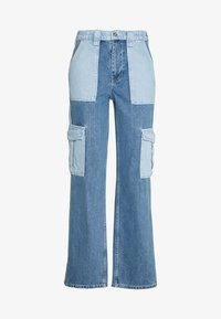 BDG Urban Outfitters - SKATE PATCHWORK - Relaxed fit jeans - blue - 0