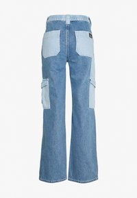 BDG Urban Outfitters - SKATE PATCHWORK - Relaxed fit jeans - blue - 1