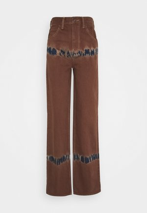 MODERN BOYFRIEND - Jeans relaxed fit - chocolate